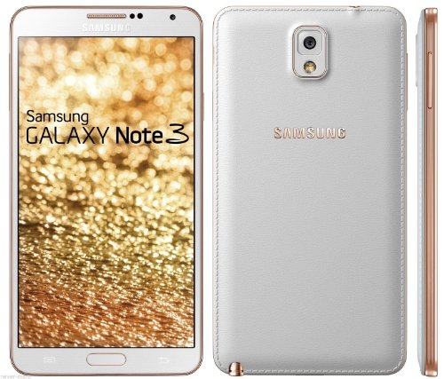 Samsung Galaxy Note 3 4G Lte N9005 16Gb Unlocked Gsm Android Phone - Gold/White