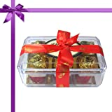 Chocholik Luxury Chocolates - Golden Treasure Of 12pcTruffles Box