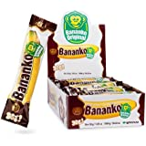 Bananko, CASE, 30gx36, Chocolate Covered Banana Flavored Dessert- New Pack