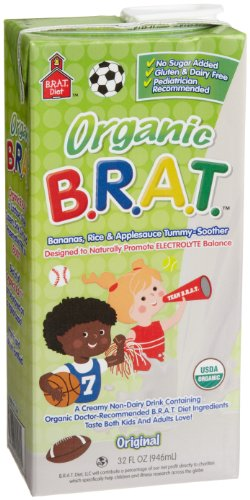 BRAT feel better drink, Original, 32-Ounce Boxes (Pack of 6)