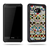 Sugar Skull Crazy Tattoo Phone Case Shell for HTC One