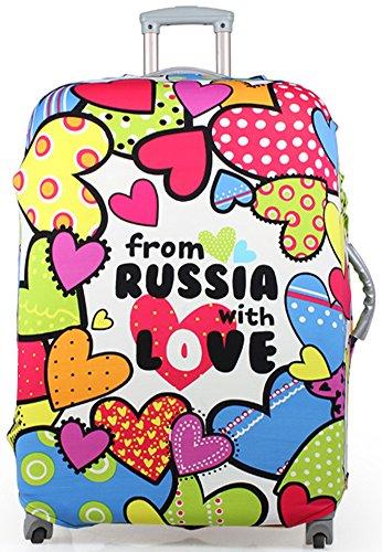 WATERFLY Durable elastico bagagli Valigia trolley, 20 _28 per bagaglio, Color mood (Multicolore) - XT-11-20