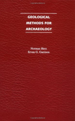 Geological Methods For Archaeology