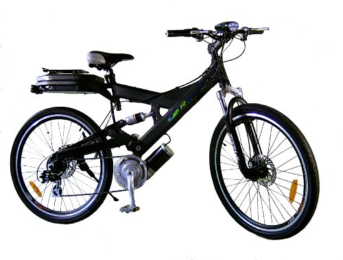 R10 black electric bicycle