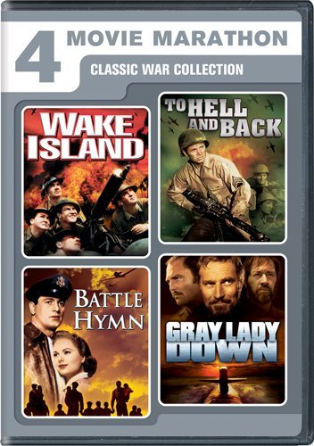 51z2iYV EgL Four Movie Marathon: Classic War Collection (Wake Island / To Hell and Back / Battle Hymn / Gray Lady Down)