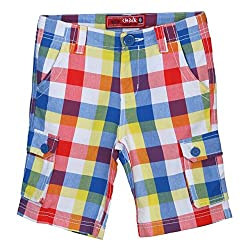Chalk by Pantaloons Boy's Casual Shorts 205000005555377 Yellow 4-5 Years