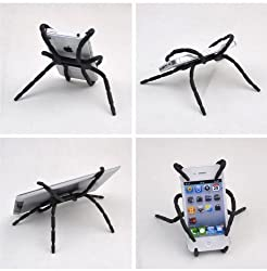 Gioiabazar Universal Spider Grip Stand Mounts Hanger Holder for Smart Phone GPS iPod Car
