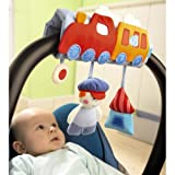 Chuff-Chuff Car Baby Seat Mobile by Haba