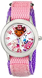 Disney Kids' W001933 Doc McStuffins Analog Display Analog Quartz Pink Watch