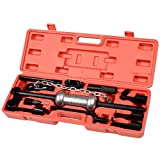 Super buy 13PC Dent Puller w/10lbs Slide Hammer Auto Body Truck Repair Tool Kit HD