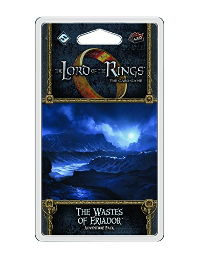 Lord of The Rings LCG: The Wastes of Eriador Adventure Pack Card Game