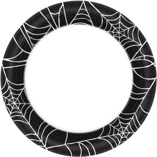 Spider Webs Dessert Plates