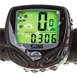 Picture Of Bestgoo® Wireless Waterproof LCD Bike Computer Odometer Speedometer with Multi Function and LCD Backlight