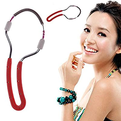 New Handheld Facial Hair Removal Threading Beauty Epilator Tool 02