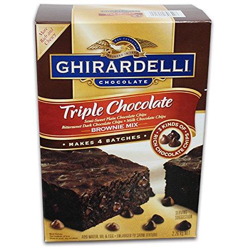 GHIRADELLI ジラデリ トリプルチョコレート ブラウニーミックス 2.26kg