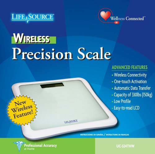 LifeSource UC 324THW Wireless Precision Scale