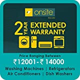 Onsite 2-year extended warranty for Large Appliance (Rs. 12001 to < 14000)