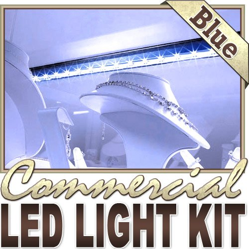 16.4' Ft Blue Store Sign Retail Counter On/Off Switch Led Strip Lighting Smd3528 Wall Plug New - Storefront Windows, Glass Displays, Dj Lighting, Bar/Night Clubs, Restaurants, Hostess Counters, Hotels Led Reading Light Strip Night Light Lamp Bulb Accent L