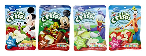Brothers All Natural Mickey Mouse Clubhouse Variety Lunch Box Fruit Crisps, 5 Count ( 1.27 oz. ) (Freeze Dried Fruit Disney compare prices)
