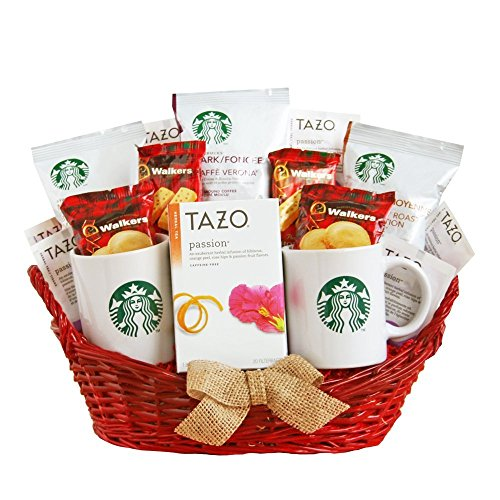 Starbucks Coffee Valentines Day Gift Basket