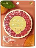 カンロ  ジュレピュレ ピンクグレープフルーツ  63g×6袋