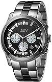 """JBW Men's JB-6218-A """"Delano"""" Two-Tone Chronograph Diamond Watch"""