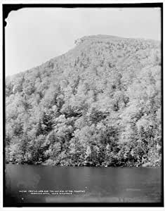 Photo: Profile Lake,Old Man,Mountain,Franconia Notch,White Mountains,New Hampshire,1890