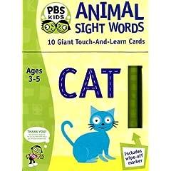 Animal Sight Words (Pbs Kids)