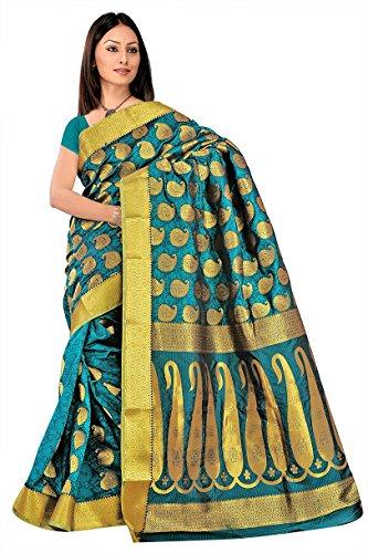 Kanchipuram Art Silk Saree-Rama