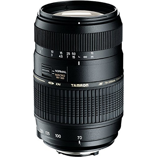 Tamron AF 70-300mm f/4.0-5.6 Di LD Macro Zoom Lens for Canon Digital SLR Cameras (Model A17E)
