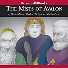 The Mists of Avalon Audiobook by Marion Zimmer Bradley Narrated by Davina Porter