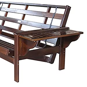 Night and Day Furniture Home Decorative Winston Queen Futon Frame Java