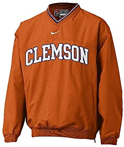 Nike Clemson Tigers V-Neck NCAA Windshirt (M=40)