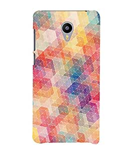 printtech Abstract Design Back Case Cover for meizu m2