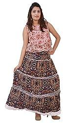 Carrol Long Skirt- Multicolor Printed