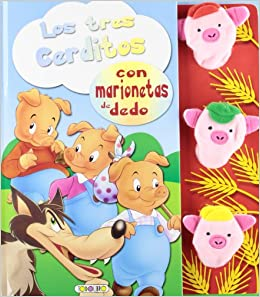 Los tres cerditos (Marionetas con cuento): Amazon.es