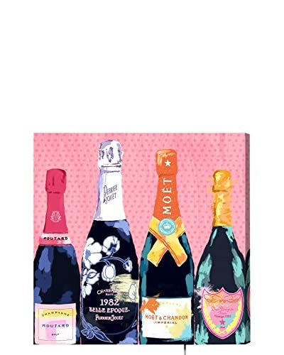 Oliver Gal Pass The Bottle! LED Canvas Lightbox
