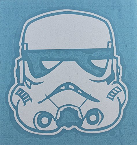 C&D Visionary Star Wars Storm Trooper Rub On Sticker on White - 1