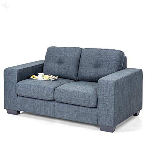 Royal Oak Berlin Double Seat Sofa (Grey)
