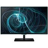 Samsung T22D390EW 54,61 cm (21,5 Zoll) LED Monitor (VGA, HDMI, USB, 2ms Reaktionszeit, TV-Tuner) schwarz