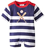 Kitestrings Baby-Boys Newborn Cotton Interlock Romper