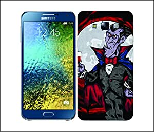 Galaxy Printed 2870 Spooky Haloween Vampire Hard Cover for Samsung ACE 3 (7272)