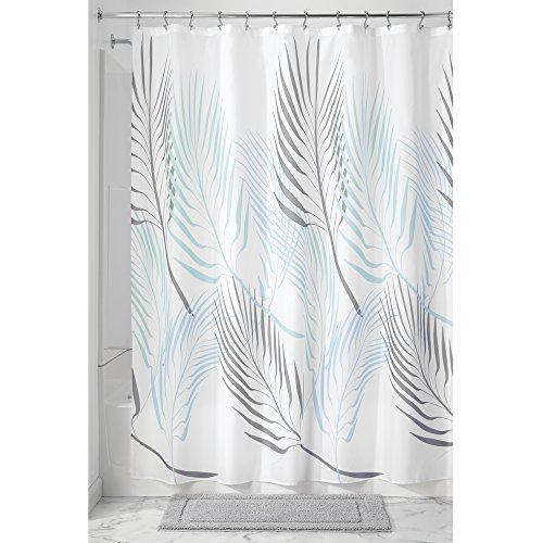 InterDesign Fern Soft Fabric Shower Curtain