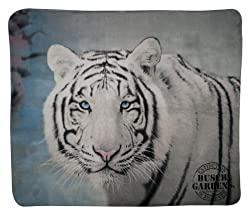 White Tiger Throw