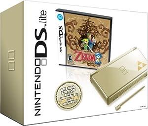 Nintendo DS Lite Gold with Legend of Zelda: Phantom Hourglass (NDS Bundle)