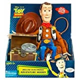 Adventure Woody Disney Pixar Toy Story and Beyond Deluxe Electronic Pull String Doll ~ Hasbro