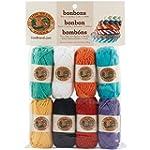 Lion Brand Yarn 601-630 Bonbons Yarn,...