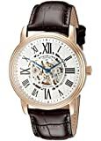 "Stuhrling Original Men's 1077.3345K2 ""Classic Delphi Venezia"" Stainless Steel Automatic Watch with Leather Band"