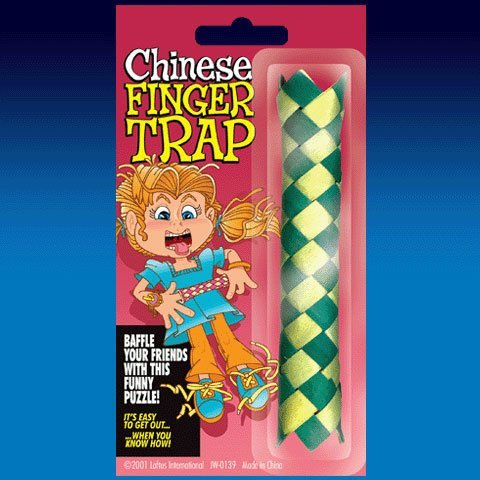 Chinese Finger Traps - 1