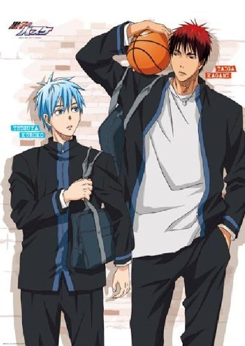 Kuroko's Basketball - Store Curtain A [Tetsuya Kuroko & Taiga Kagami] by ensky